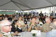 About 150 people attended the groundbreaking ceremony for the Symphony Honolulu mixed-use condominium project.