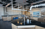 A lab space that will house state-of-the-art equipment.