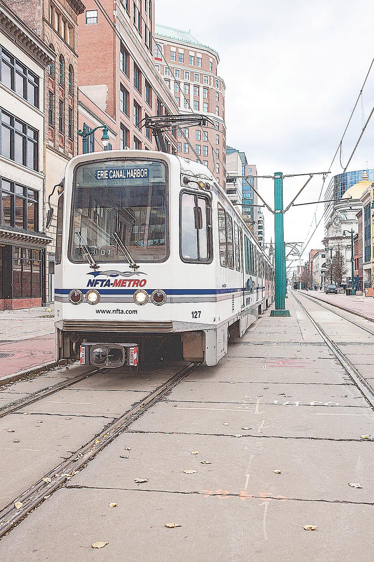 The Metro Rail will soon have company in as cars return to Main Street — and development is following that change.
