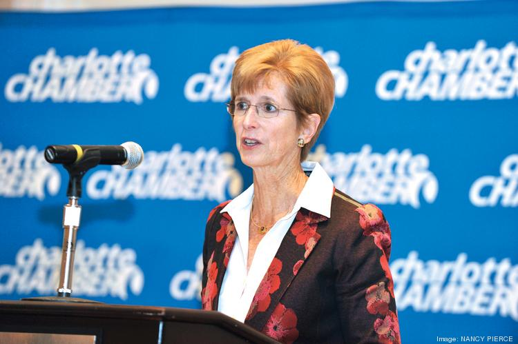 Christine Todd Whitman was the keynote speaker at the Charlotte Chamber's energy event.