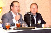 Jay Berkowitz and Brett Fogle were panelists at the recent tech showcase.