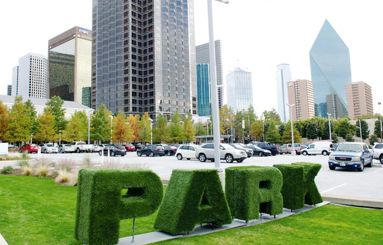 As the city's center grows up and out, business leaders debate whether Dallas  needs more parks or more parking. Maybe it needs both.