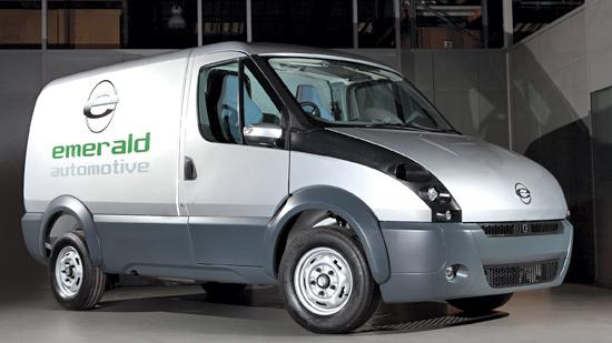 Emerald has built prototypes of its t-001 electric van, but its plan for a $175 million plant in Hazelwood that would employ more than 500 has stalled.