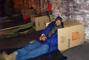 Participants in the 2012 Covenant House Sleep Out in Philadelphia.
