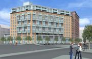Another look at One Canal, the 12-stor apartment building to be built on a 1.5-acre lot near TD Garden.
