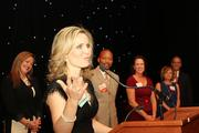 Up & Comer Jessica Muroff accepting her Hall of Fame award.  See her video acceptance here.