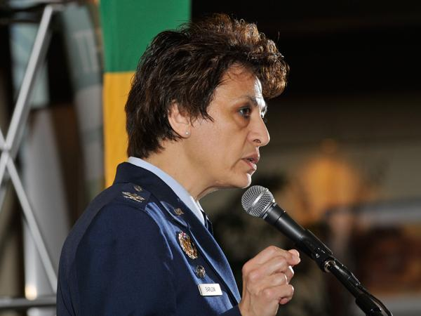 U.S. Air Force Col. Cassie Barlow said Wright-Patterson Air Force Base needs to do more public/private partnerships.