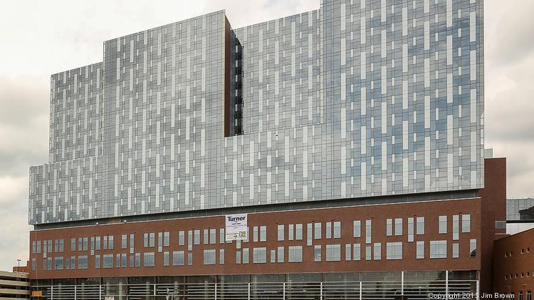 OSU Wexner Medical Center said inpatient jobs were among systemwide 2013 employment growth, and more jobs are on the way when this new tower opens next year.