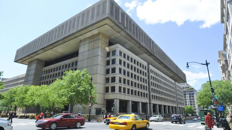 The General Services Administration has narrowed down its short list for potential FBI headquarters sites to Springfield and Prince George's County. A new headquarters would clear the way for redevelopment of the current headquarters site on Pennsylvania Avenue NW.