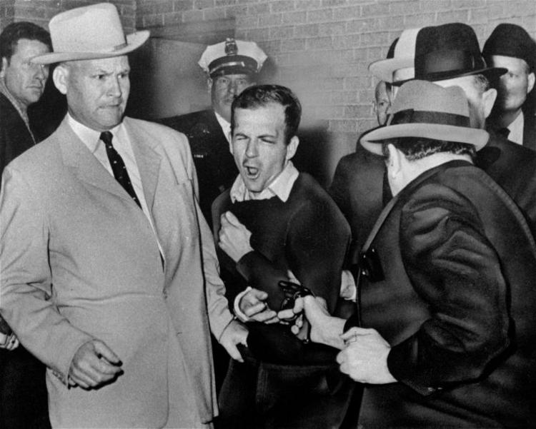 Many believe Jack Ruby's shooting of Lee Harvey Oswald was part of a larger conspiracy that began with the killing of President John F. Kennedy two days earlier.