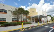 The North Broward Academy of Excellence entrance.