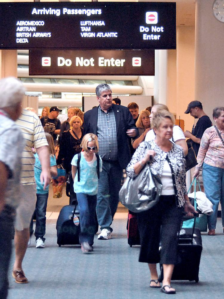 Labor Day traffic at Orlando International Airport is expected to be up 7.7 percent this year compared to the year-ago holiday period.