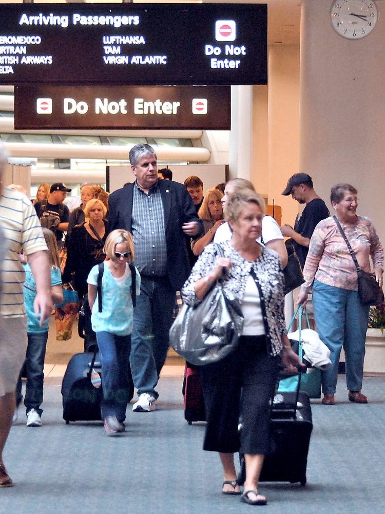 Orlando International Airport, with 35 million annual passengers, is the second-busiest airport in Florida and 14th-busiest in the U.S.