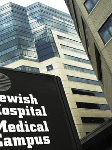 Jewish Hospital is part of KentuckyOne Health, which reported losses for the nine months ended March 31.