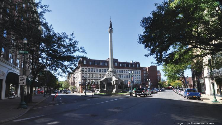 Officials could make recommendations as early as next week regarding the redevelopment of One Monument Square in downtown Troy, NY.
