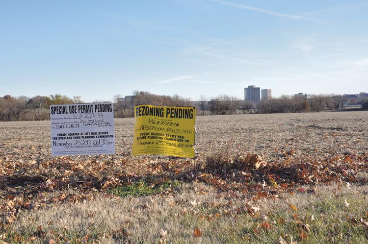 Representatives of Block Real Estate Services LLC have been talking to Overland Park officials about a proposed $350 million development on the so-called Galleria site southwest of College Boulevard and U.S. Highway 69.