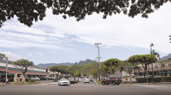 Alexander & Baldwin's purchase of Kaneohe Ranch's Hawaii portfolio includes much of Kailua town, including the properties on both sides of Hahani Street, seen here.