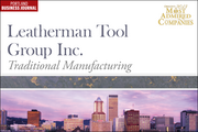 Traditional Manufacturing: 4. Leatherman Tool Group Inc.