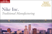 Traditional Manufacturing: 1. Nike Inc.