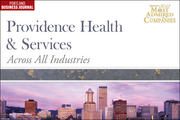 Across All Industries: 8 (tied). Providence Health & Services