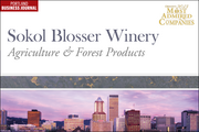 Agriculture & Forest Products: 7. Sokol Blosser Winery