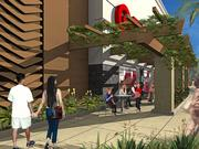This rendering shows the entry of the Target store in Kailua, Hawaii. Target recently started construction on the 130,000-square-foot store, which is scheduled to open in early 2015.