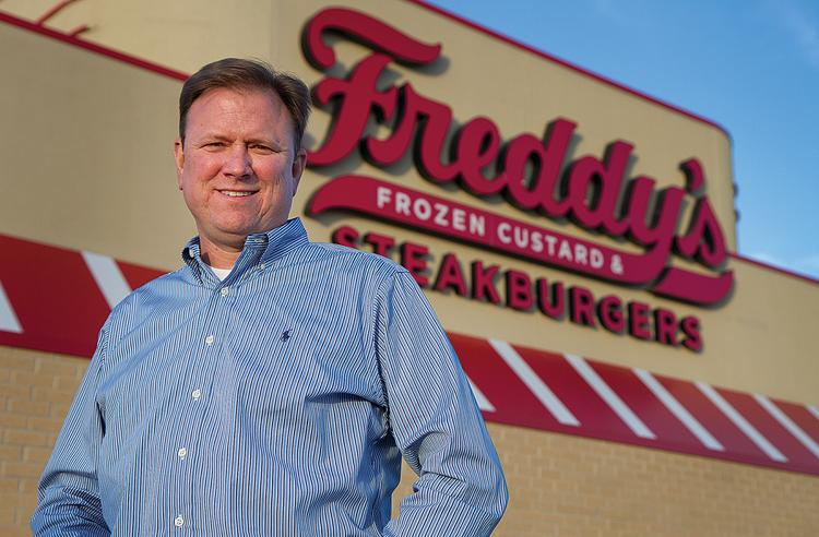 Ron Oberg, president of Epoch development and the first franchise owner of Freddy's.