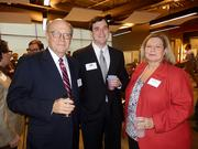 From left: Buzz Carter, Barry Blevins and Carol Hargis
