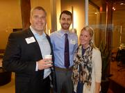 From left: Josh Bowling, Justin Ostline and Frances Phipps