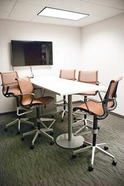 The Metallica conference room.