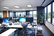 The main working space of Macquarie before a grand opening event.