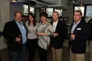 From left: David Hughes, Alex Hughes, Gina Hughes, Eddie Phillips and Clint Mitchell