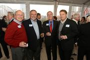 From left: Ralph Schultz, Terry Cobb, Tom White and Ryan Doyle