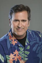 Cult film star Bruce Campbell will appear at the Austin Comic Con this weekend.