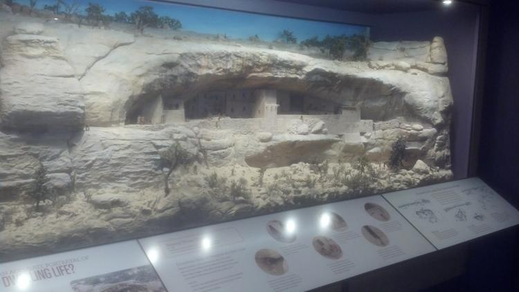 History Colorado Center officials have displayed one of its Depression-era dioramas of Mesa Verde National Park as part of their new Living West exhibit.