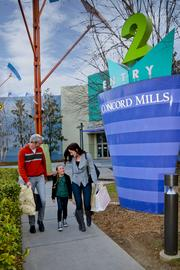 Concord Mills offers shoppers access to more than 200 outlet and retail shopping options.
