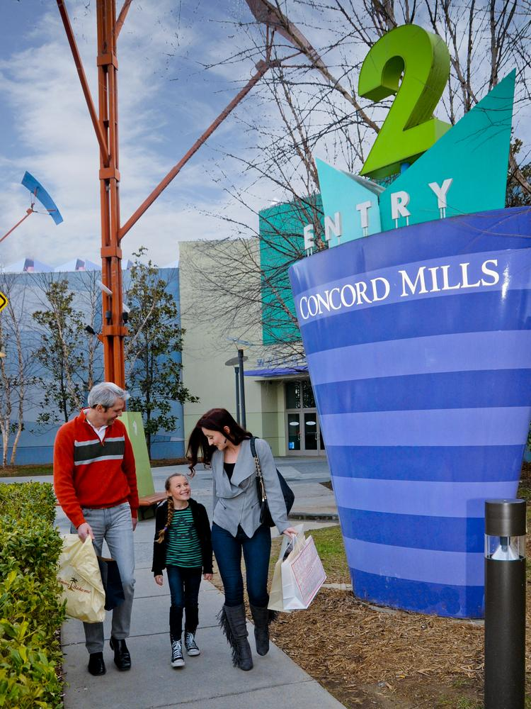 Concord Mills continues to expand its tenant list, with a J.Crew Factory store opening.