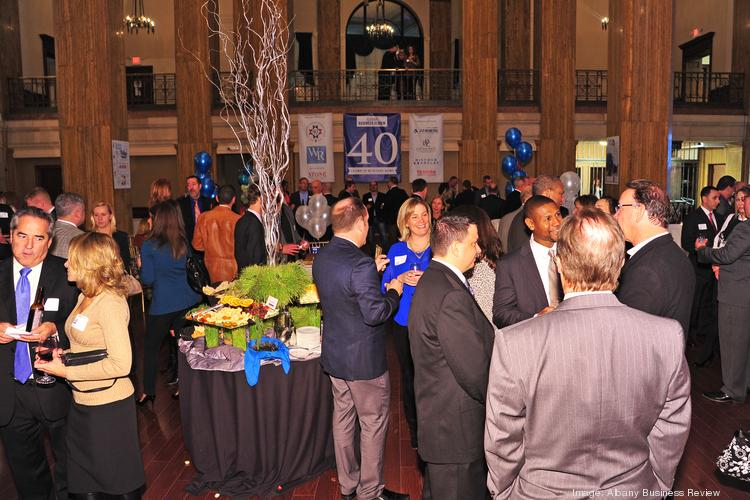 The Albany Business Review, and its readers, celebrated the 40th anniversary at 90 State St., a new venue in downtown Albany.
