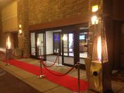 Red carpet entrance to DoubleTree by Hilton Pittsburgh-Green Tree
