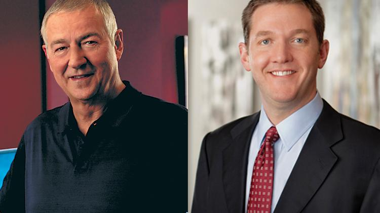 SAS CEO Jim Goodnight, left, and Red Hat CEO Jim Whitehurst, right, are both very outspoken on the need for more STEM workers.