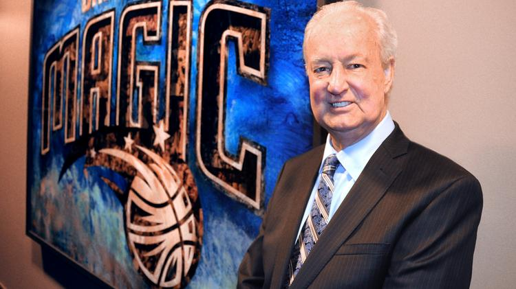 Pat Williams was one of the first inductees in the Orlando Magic's Hall of Fame.