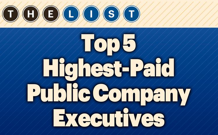 This week, the Kansas City Business Journal ranks the area's top public company executives by total compensation.  For the full list, subscribers can take a look at the print edition of the Kansas City Business Journal. The list also includes job title, total compensation, salary, bonus, stock awards, stock options, incentives, pension and other compensation. (Subscribers, view the full Top Kansas City public company executives list online, which also includes job title, total compensation, salary and stock awards.) Want more research like this? Check out the 30th Annual Book of Lists in print or digital format here. Think your company might qualify for a list? Email dozkal@bizjournals.com. Coming lists include private schools, colleges and universities, MBA programs, banks and SBA lenders. Get more information about Kansas City Business Journal research here.  FROM THE LIST:  Breaking down highest-paid executives list