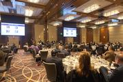 Nearly 150 people attended the BBJ's hosts a panel on health care reform Friday at the Four Seasons Baltimore.