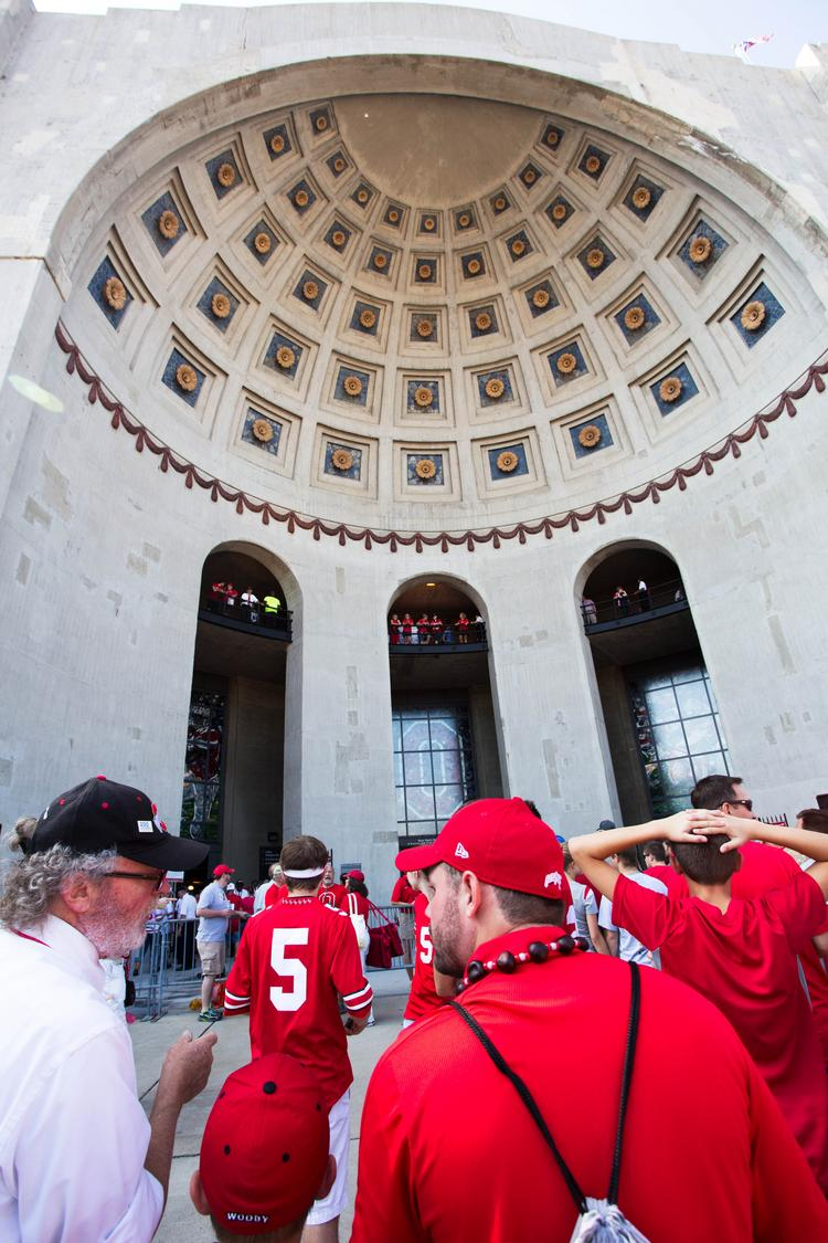 Ohio Stadium is set to host the seventh and final home football game of the season on Saturday, with another 100,000+ crowd expected. If tailgating estimates are included, that means football will have drawn more than 1.5 million people to Columbus over the past three months.