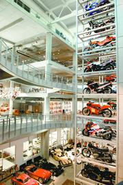 The collection at Barber Vintage Motorsports Museum.