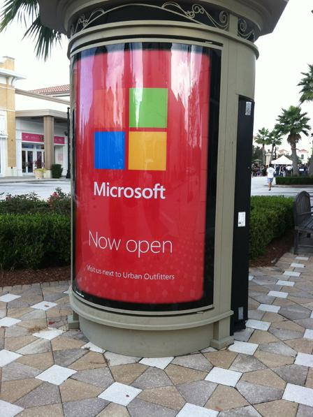 Ross Park Mall will be the site of a new Microsoft store.
