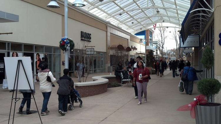 Weather-related closures across Tanger Outlet Centers' properties were five times greater in the first quarter than a year ago, and snow removal expense was double.