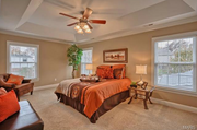 9102 Madge Ave.: The master bedroom.