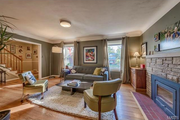 2311 Saint Clair Ave.: There are hardwood floors throughout the main floor.