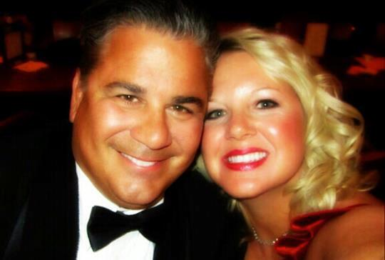 AJ Indoor Advertising founder Jim Arabanos and his wife, Andrea.